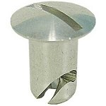1/4 TURN FASTENER OVAL HEAD ALUMINUM