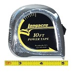 Longacre Standard Tape Measure