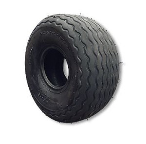 "800 X 6 RIBBED TIRE, 4 PLY, 8.0"" WIDE, 16.0"" OD, FLAT PROFILE"