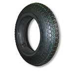 350 X 10 STUDDED TIRE, 4 PLY, 3.7