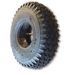 "16-650 X 8 STUDDED TIRE, TUBELESS, 2 PLY, 6.4"" WIDE, 16.4"" OD"