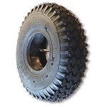 410/350 X 5 STUDDED TIRE, 4 PLY, 3.5