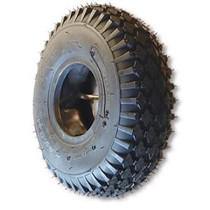 "530/450 X 6 STUDDED TIRE, 4 PLY, 5.3"" WIDE, 14.7"" OD"