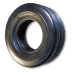 11-400 X 5 RIBBED TIRE, 8 PLY, 3.2