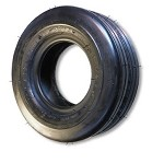 15-600 X 6 RIBBED TIRE, 4 PLY, 5.9