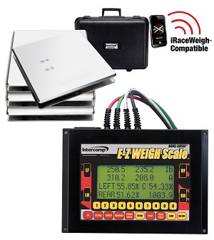 Intercomp  SW500™ E-Z WEIGH KART SCALE   1,600 lb  System Capacity  Certified to 0.1% Accuracy