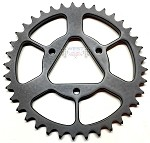 New Triangle Engine Gears 7075 Superlight and anodized with Teflon & Graphite coating