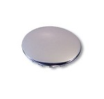 STEERING WHEEL CAP (SNAP-IN), CHROME PLATED