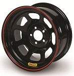 Bassett Racing D-Hole Lightweight Black Powdercoated Wheels