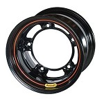 Bassett Wheels - Bassett Wide-Five Black Wheels