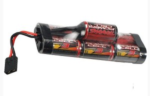 Traxxas Battery, Series 3 Power Cell, 3300mAh (NiMH, 7-C hump, 8.4V)