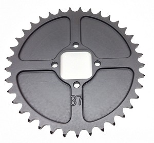 NEW Lightweight Square Engine Gear, Anodized with Teflon and Graphite coating