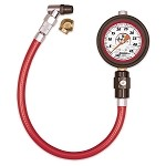 "NEW Longacre Liquid Filled 2 ½"" GID Tire Gauge 0-45 by ½ lb"