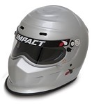 Impact Champ Helmet available in black, silver and white
