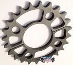 Quarter Midget Hardcoated Axle sprockets  Superlight