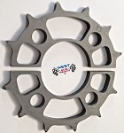 Quarter  Midget  Hardcoated  Skip tooth Axle  sprockets Superlight