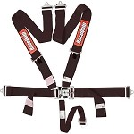 Racequip 711001 Black 5 point Seat Belts