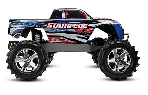 Traxxas Stampede 4X4 Brushed 1/10 Scale Brushed High-Performance Monster Truck
