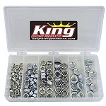 105 PC. STEEL 1/2 NUT NYLOCK KIT