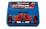 Traxxas 2972:  EZ-Peak Plus 100W NiMH/LiPo Dual charger with iD Auto Battery Identification